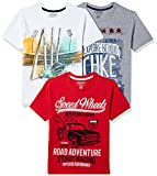 #4: Cherokee Boys' Plain Regular Fit T-Shirt (Pack of 3)(275787535 ASSORTED 08Y)