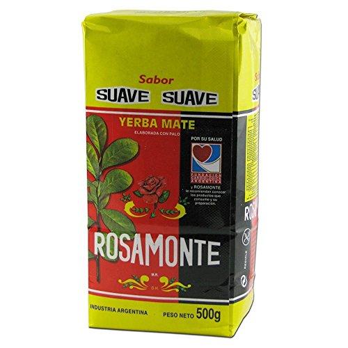 Yerba mate Rosamonte Suave 500gr