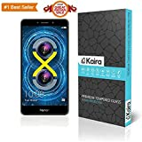 #9: Kaira 0.3mm Premium Ultra Clear, Anti-Scratch and Bubble Free Tempered Glass for Huawei Honor 6X