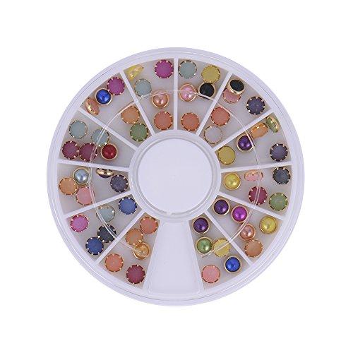HimanJie Mix de ABS couleur 3D Nail Art strass décoration BRICOLAGE