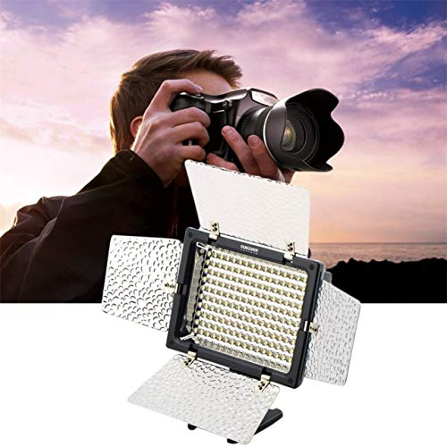 YONGNUO YN160 Pro LED Kamera Video Licht Einstellbar 3200K-5500K für Camcorder