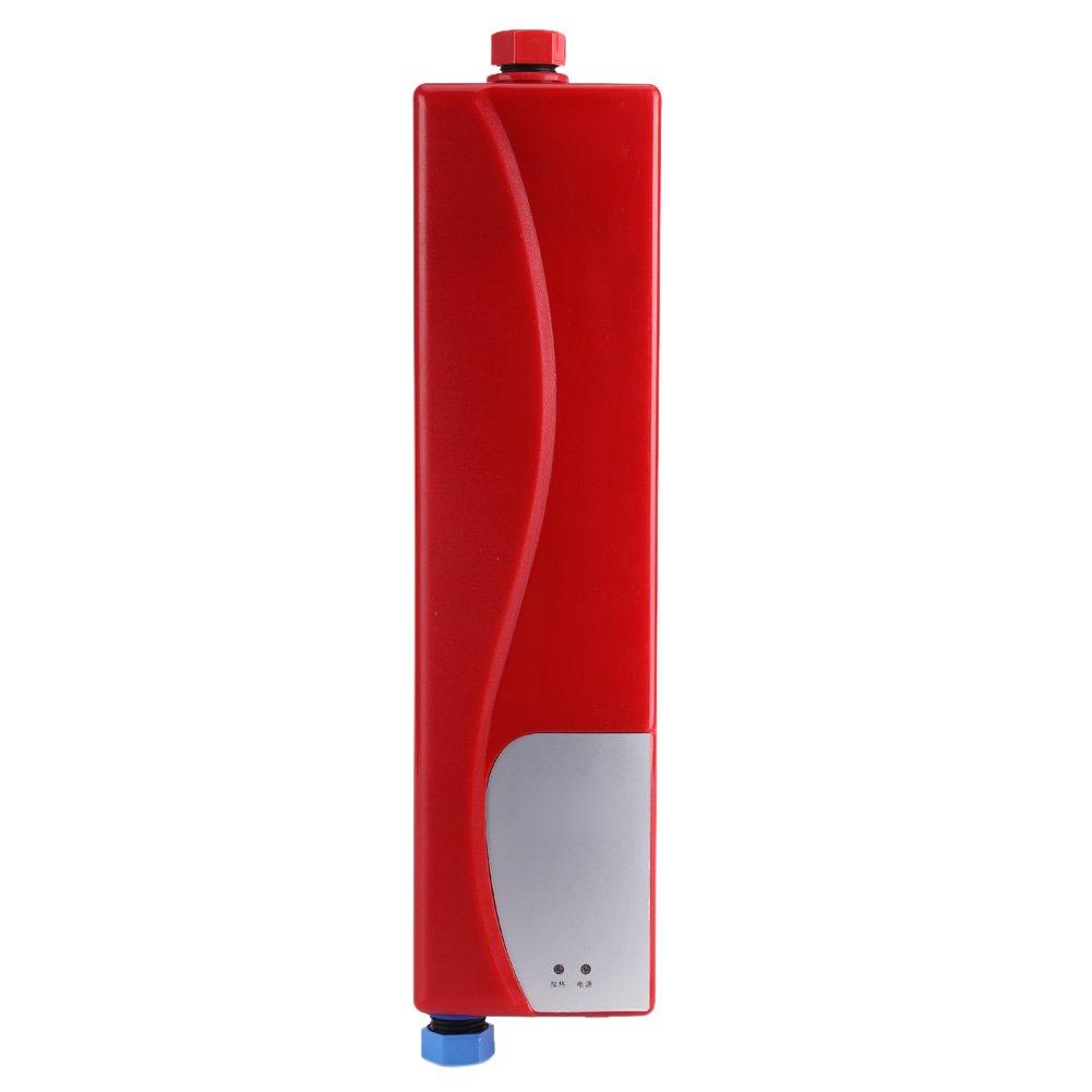 Calentador de agua – 220V 3000W Mini eléctrico Sin tanque Calentador instantáneo de agua caliente Baño Cocina Lavado…
