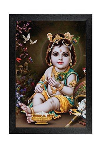 Lord Krishna Ji Pantings With Frame 12 X 1 X 18 Inches Best
