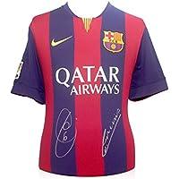 2014-15 maglia di calcio Barcellona firmato da