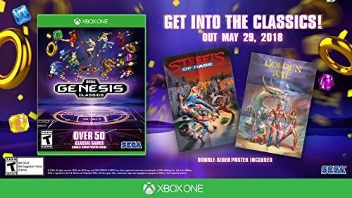 SEGA Genesis / Mega Drive Classics Xbox One US Version (Sonic The Hedgehog 2 Xbox)