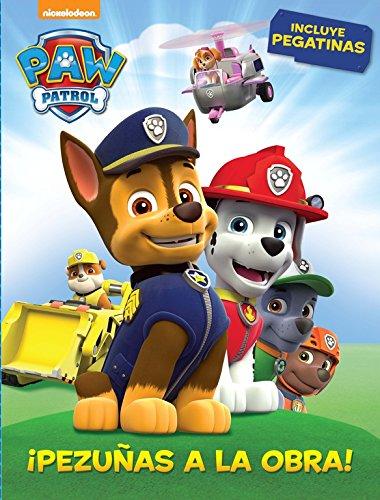¡Pezuñas a la obra! (Paw Patrol - Patrulla Canina. Actividades): (Contiene pegatinas) por Nickelodeon Nickelodeon