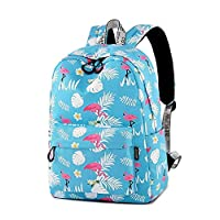 YuanYu Backpack - Female Student Bag Campus Leisure Daily Travel Bag Large Capacity Multi-Functional College Students Junior High School Students Backpack Backpack
