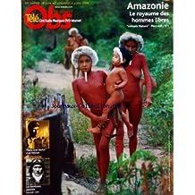 NOUVEL OBS TELE (LE) [No 2277] du 26/06/2008 - AMAZONIE - LE ROYAUME DES HOMMES LIBRES - CINEMA - VALSE AVEC BACHIR D'ARI FOLMAN - LES KAMIKAZES JAPONAIS SUR ARTE