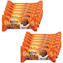 Bournvita Cadbury Pro Health Chocolate Cookies, 46.5g (Pack of 12)