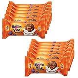 #7: Bournvita Cadbury Pro Health Chocolate Cookies, 46.5g (Pack of 12)