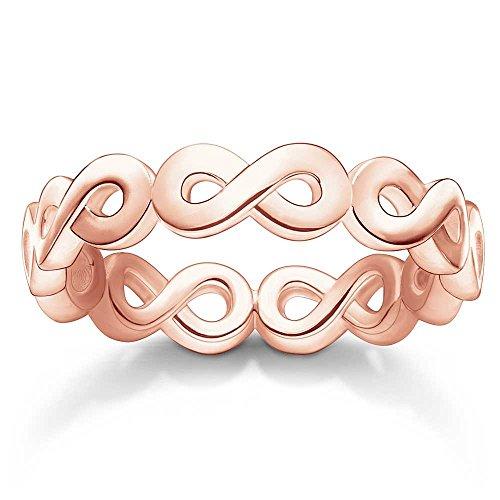 THOMAS SABO Infinity Ring Rotgold TR2124-415-12-56