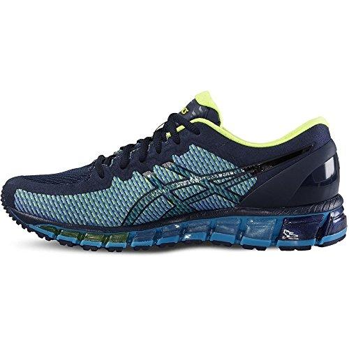 Asics Gel Quantum 360, Chaussures de Running Compétition Homme Bleu Marine