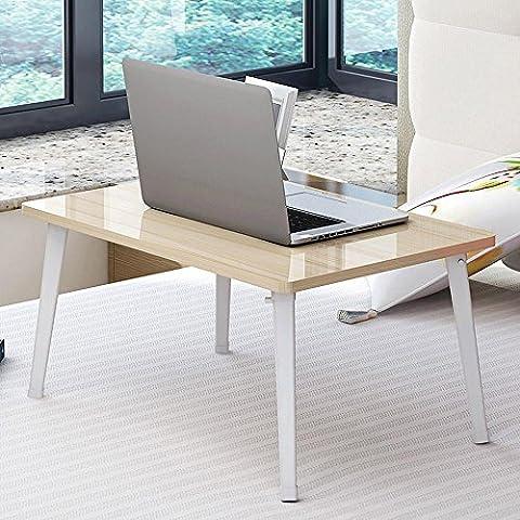 BBSLT Mesa de ordenador portátil de moda para cama, mesas de noche minimalistas modernos dormitorio, simple 60 * 40 * 29. 5 cm escritorio , c