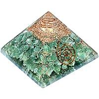 Orgonite Pyramid Green Aventurine 2.5-3 inch Gemstone Chakra Balancing Reiki Healing + 1 Ammazonite Pointer Pendant preisvergleich bei billige-tabletten.eu