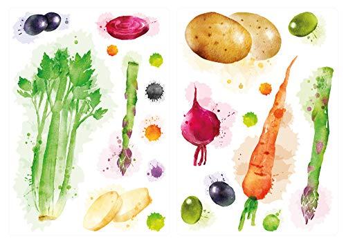 Wandtattoo - Gemüse-