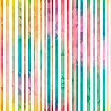 murando - Tapete selbstklebend - 10m - Wandtattoo - dekorative Möbelfolie - Dekorfolie - Fotofolie - Panel - Wandaufkleber - Wandposter - Wandsticker - geometrisch bunt Streifen f-B-0171-j-a