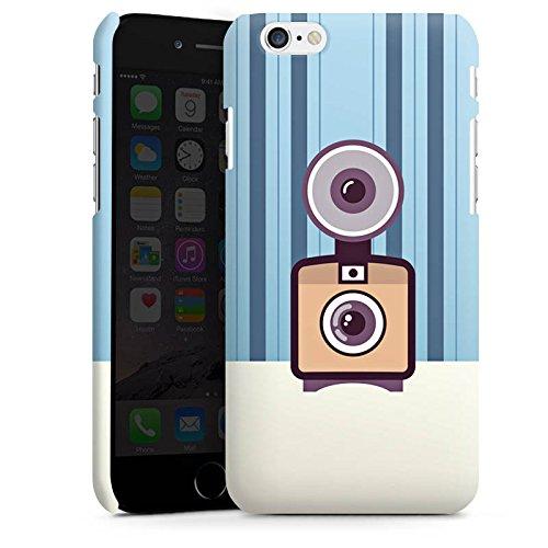 Apple iPhone X Silikon Hülle Case Schutzhülle Vintage Kamera Fotografie Symbol Premium Case matt