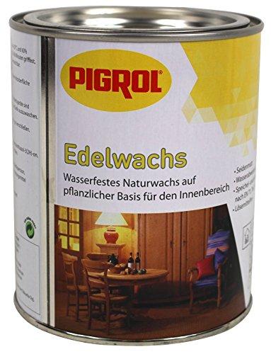 Pigrol Edelwachs 0,375L teakholz Wachs Holz Möbel Klarwachs Hartwachs Naturwachs innen