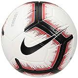 Nike Strike Fußball, White/Bright Crimson/Black, 5
