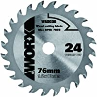 Worx M291075 - Disco corte madera 76 wa5030-24t w