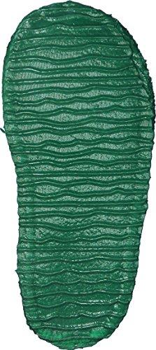 Giesswein Jungen Trittau Hausschuhe Grün (Mittelgrün)