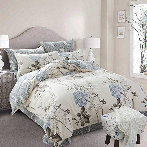 Reine Baumwolle 4 Stück Baumwolle Bettwäsche minimalistisch ist 2.0 m Doppelbett 1.5m1.8, streamen.
