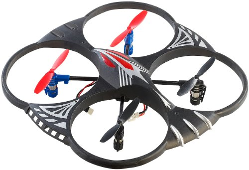 Simulus Hubschrauber: 4-CH-Quadrocopter GH-4L mit 360°-Flip-Funktion (Multicopter for Drone Flight)