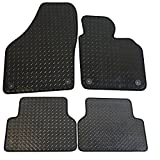 Tiguan Rubber Car Mats (4 Piece Car Mats)
