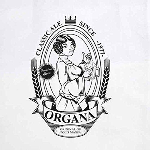 SW: Organa Beer - Stofftasche / Beutel Weiß