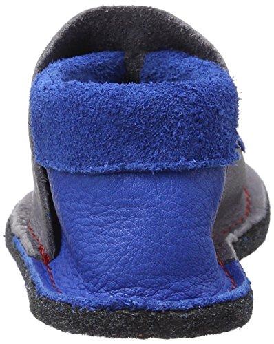 Pololo - Pololo Kiga Polizei, Scarpine e pantofole primi passi Bimbo 0-24 grigio (grigio)