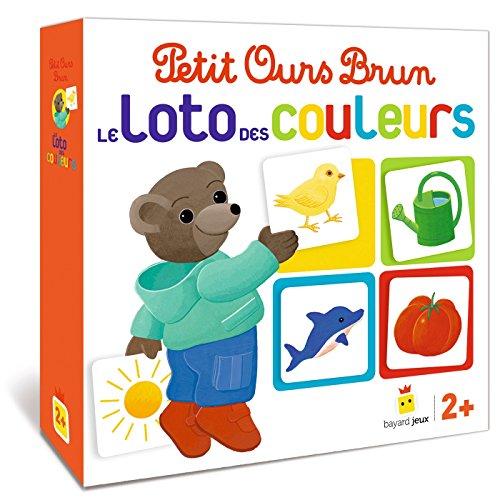 Jeu Petit Ours Brun - Le loto des couleurs (Jeux et jouets Petit Ours Brun)