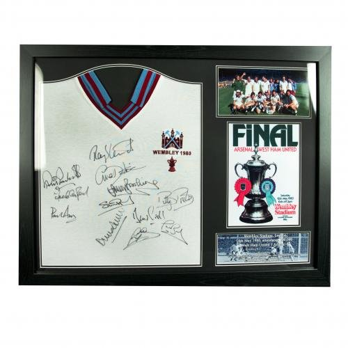 West-Ham-United-FC-1980-FA-Cup-Final-Signed-Shirt-Framed-Official-Merchandise