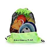 SainSmart Jr. Strandspielzeug Tasche Strandtasche mit Rücksack für Familie Urlaub Large Größe, Grün