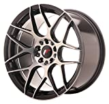 Japan Racing JR18 Black Machined - 18x9.5 ET40 5x114.3/5x112 Llantas de aleación (Competición)