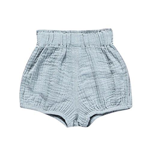 inkind Kinder Unterwäsche Nettes Baby Mädchen Jungen Dot Geometrische Shorts Hosen Leggings 6M-5T (Blau, 5T) (Windel-partei-ideen)