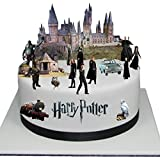 Stand Up Harry Potter Cake Scene Premium Edible Wafer Paper Cake Toppers - Easy to Use