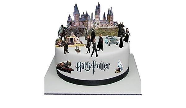 Kuchendekoration Aufrecht Stehend Design Harry Potter Szene