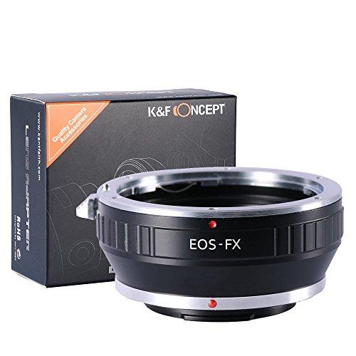 K&F Concept EOS EF/EFS Objektivadapter auf FujiFX Mount X-Pro1 X Kamera X-Serie, spiegellose Kameras Fuji Finepix Z-serie