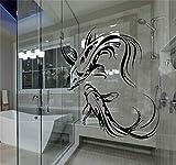 wandaufkleber graffiti Asiatischer japanischer Fisch-Buddhismus Koi