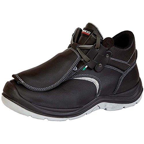 Giasco 93d61C38S3York Zapatos de Seguridad, Negro - Negro, 38