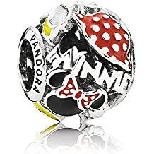 Pandora encanto de Disney–Minnie Mouse–mejor de Minnie