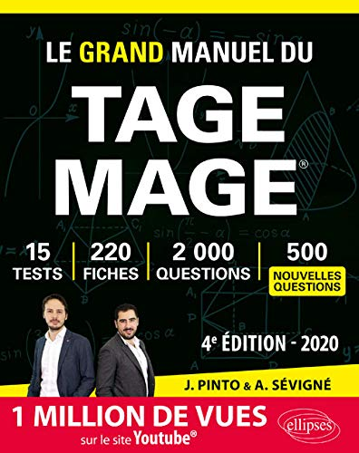 Le Grand Manuel du TAGE MAGE - 4e édition