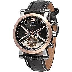 Forsining Men's Fashion Automatic Calendar Steampunk Wrist Watch FSG2371M3T1