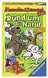 Ravensburger 23433 - Mauseschlau & Bärenstark: Rund um die Natur - Kinderspiel/ Reisespiel