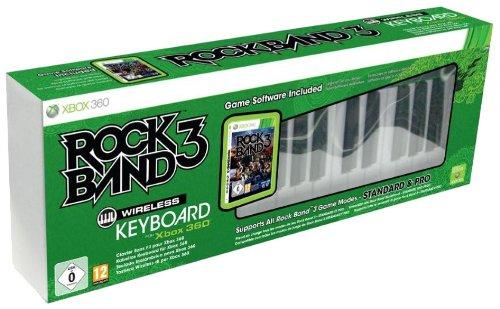 Rock Band 3 Bundle Software + Wireless Keyboard - Bundle Rock Xbox Band