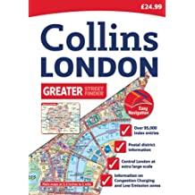 Greater London Street Atlas (Collins Travel Guides)
