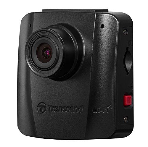 Transcend TS16GDP50M DrivePro 50 Autokamera ohne Display (inkl. 16GB microSDHC Speicherkarte MLC, WiFi-Funktion) schwarz