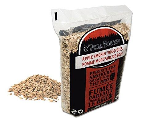 ♨ Bois pour fumage barbecue 900g - petits morceaux de bois de POMMIER séché - Bois pour fumoir et barbecue