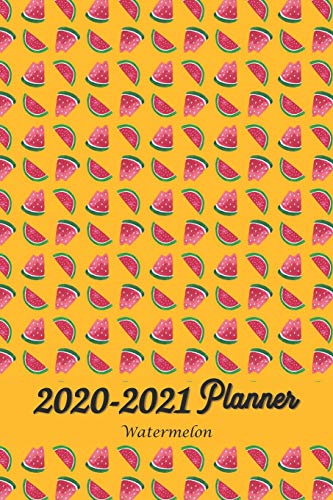 2020-2021 Watermelon Planner: The Simplified Daily / Weekly / Monthly Calendar Planner - Planner Starting January 2020- December 2021 Monthly Schedule Organizer Notebook Journal 6x9
