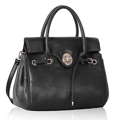 TrendStar Frauen Designer Taschen Damen Neue Imitat Handtaschen Promi Stil (Tasche Vuitton Neue Louis)